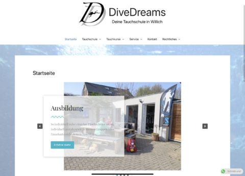 Unsere Webseite ist wieder online